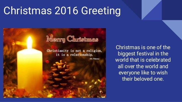 Choose merry christmas greetings for your loved one christmas 2016 greeting m4hsunfo