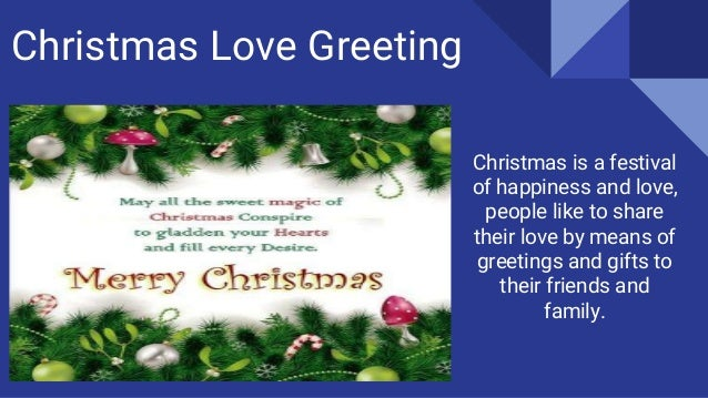 Choose merry christmas greetings for your loved one christmas greetings 2016 5 christmas love m4hsunfo