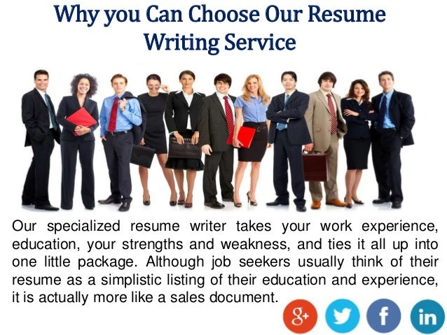 4 why you can choose our resume writing service - Resume Preparation Service