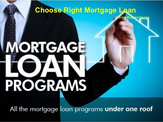 Choose Right Mortgage Loan Cory Ruppersberger