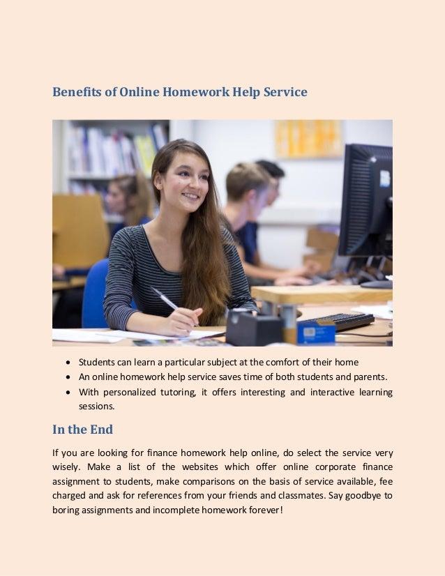 College homework help websites
