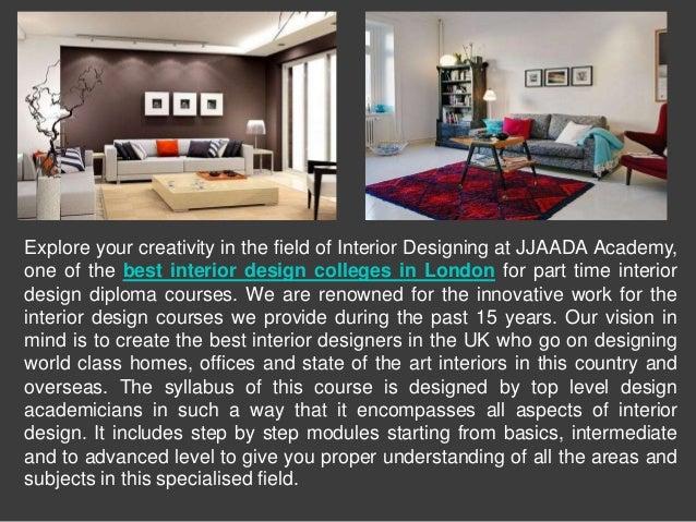 Choose the Best Interior Design College in London