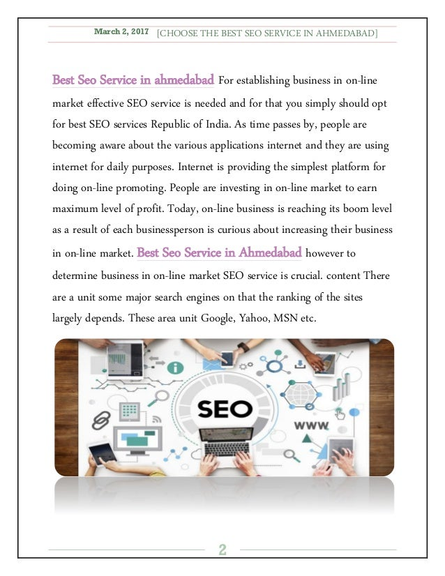 Seo copywriting service ahmedabad