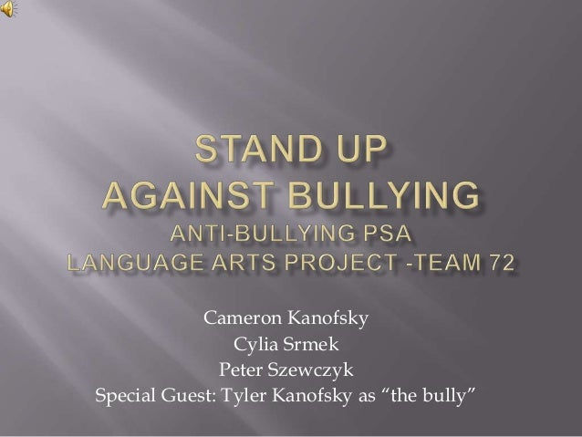 Anti-Bullying PSA [Video] - yahoo.com