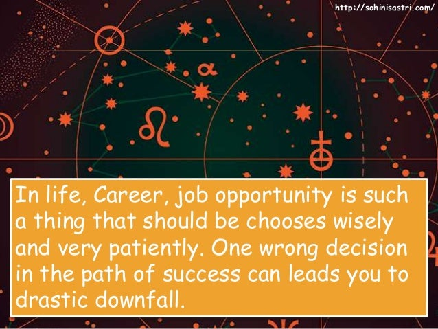 Choose Your Best Career Opportunity From Famous Astrologer