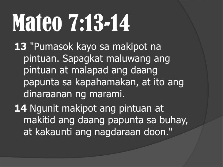 """Mateo 7:15-2015 """"Mag-ingat kayo sa mga hindi tunay na propeta. Lumalapit sila sa inyo na parang tupa, ngunit ang totooy ma..."""