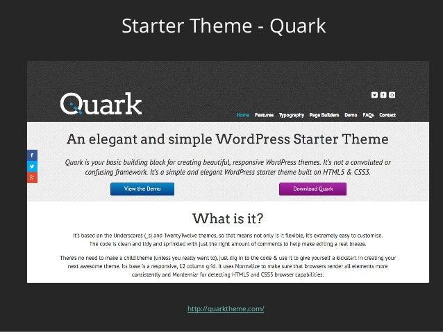 Choosing the Right WordPress Theme