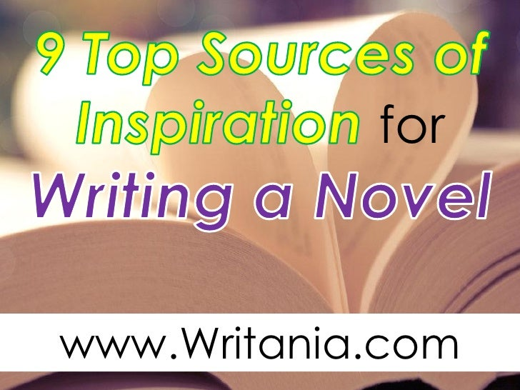 writing a novel inspiration