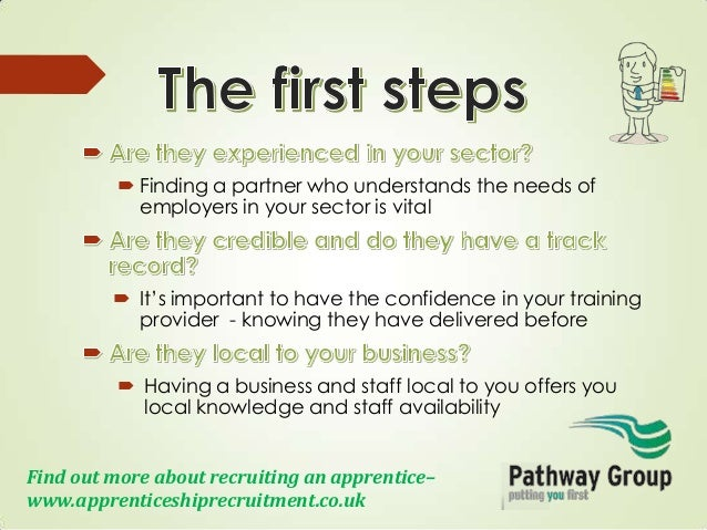 how to become an apprenticeship provider