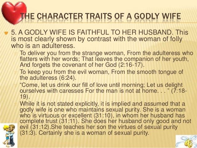 What qualities should a good husband have