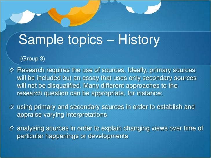 history research essay History essay guide department of history, university of ottawa online history research guides: this specialized.