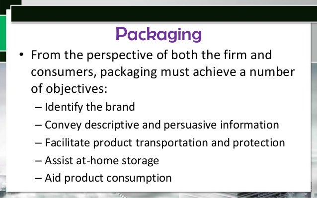 Packaging Can Influence Taste • Our sense of taste and touch is very suggestible, and what we see on a package can lead us...