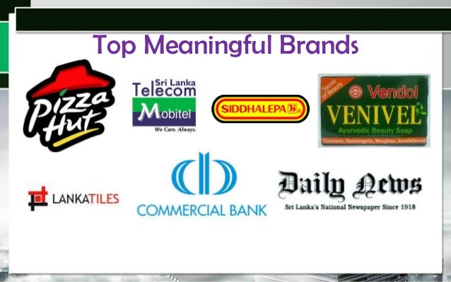 Top Meaningful Brands