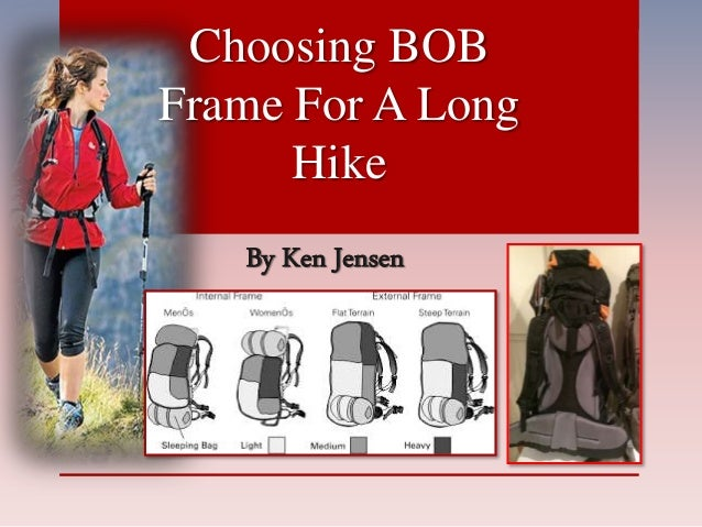 By Ken Jensen Choosing BOB Frame For A Long Hike
