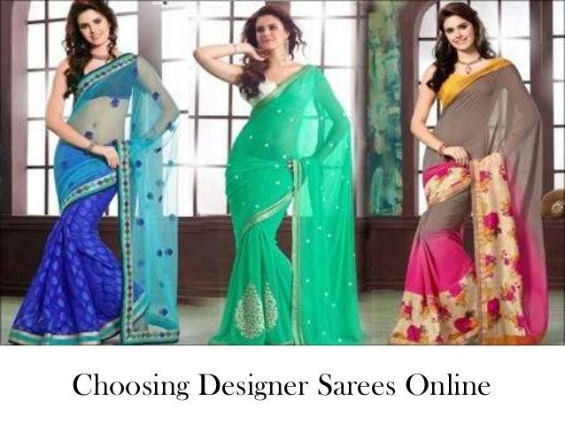 Choosing Designer Sarees Online