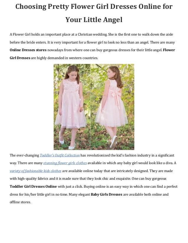 Choosing pretty flower girl dresses online for your little angel choosing pretty flower girl dresses online for your little angel a flower girl holds an important mightylinksfo