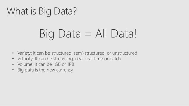 Choosing technologies for a big data solution in the cloud