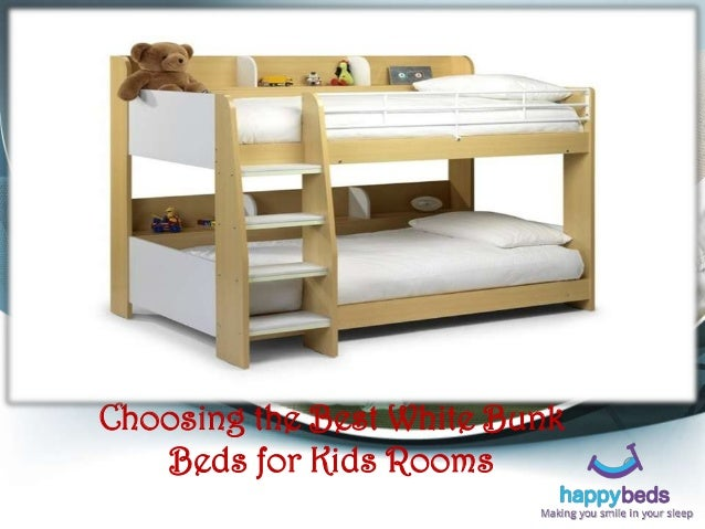 Choosing The Best White Bunk Beds For Kids Rooms