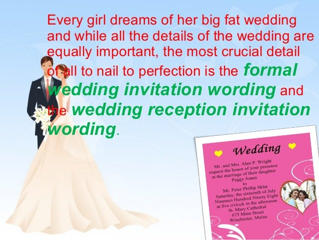 The Best Wedding Invitations: Choosing The Perfect Wedding Reception Invitation Wording