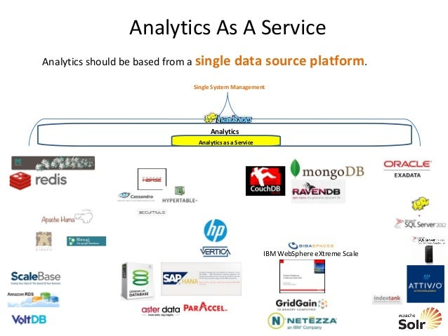 Key Ideas Hadoop is used as the shared analytical platform to merge and standardize analytics There are guidelines to help...