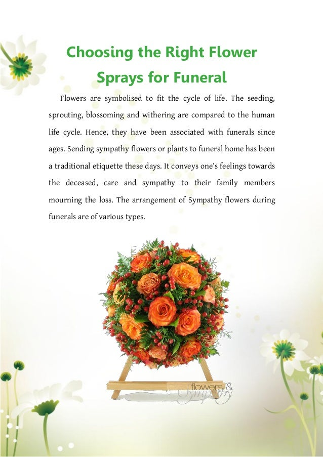 Choosing the Right Flower Sprays for Funeral on plants to send for sympathy, plants for funeral service, plants for cemetery, plants given at funerals, plants for church, plants sent to funerals, plants for a funeral,