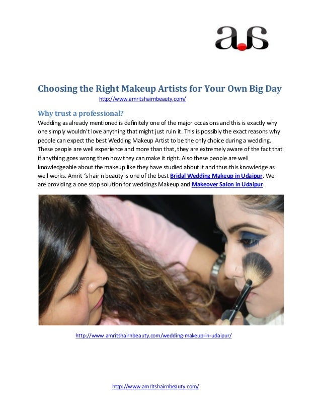 http://www.amritshairnbeauty.com/ Choosing the Right Makeup Artists for Your Own Big Day http://www.amritshairnbeauty.com/...