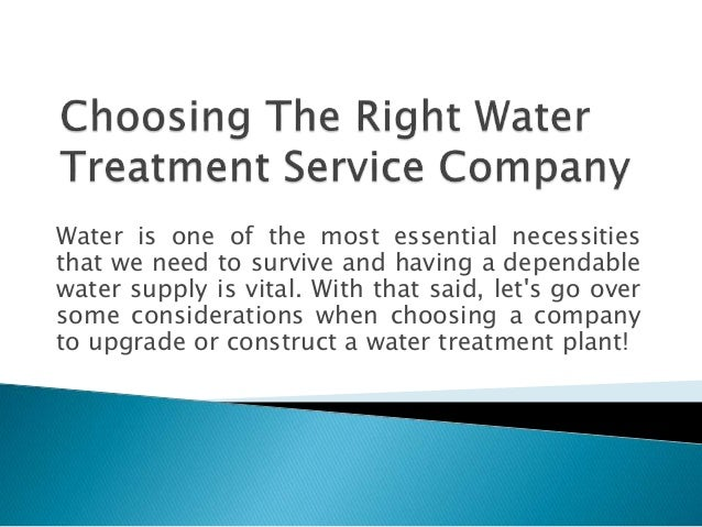 Water is one of the most essential necessities that we need to survive and having a dependable water supply is vital. With...