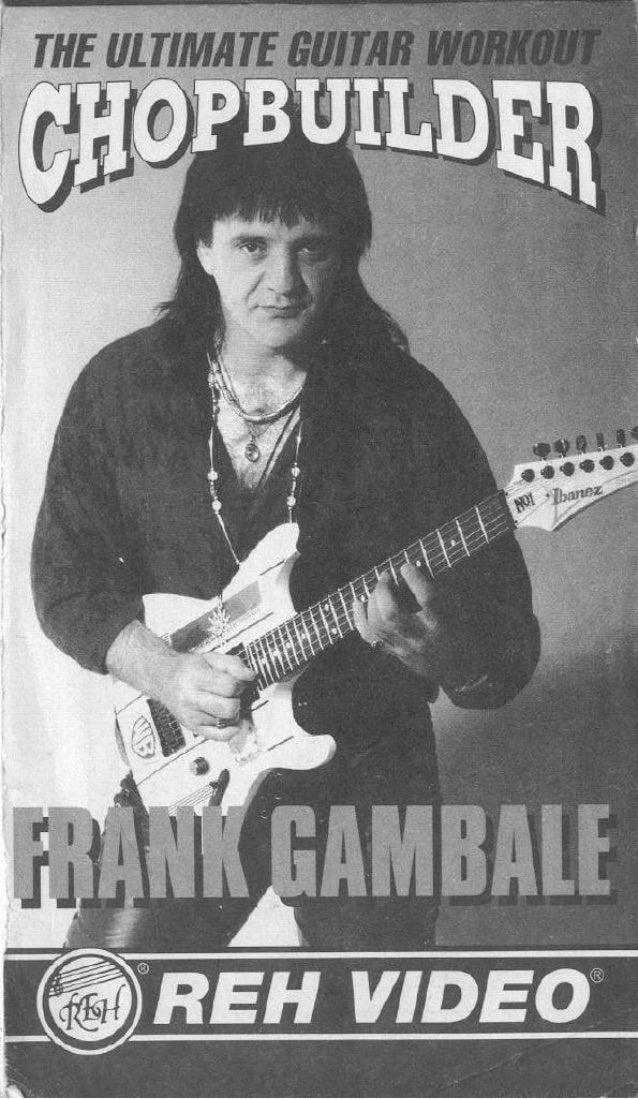 booklet Musicalizo Estudio - Chop Builder Frank Gambale Slide 3