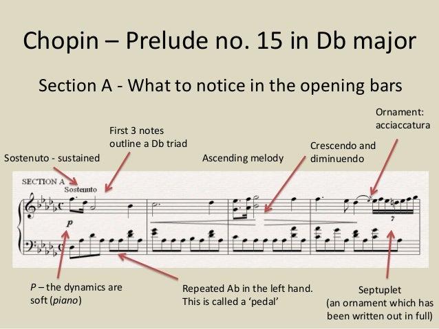 chopin raindrop prelude gcse essay