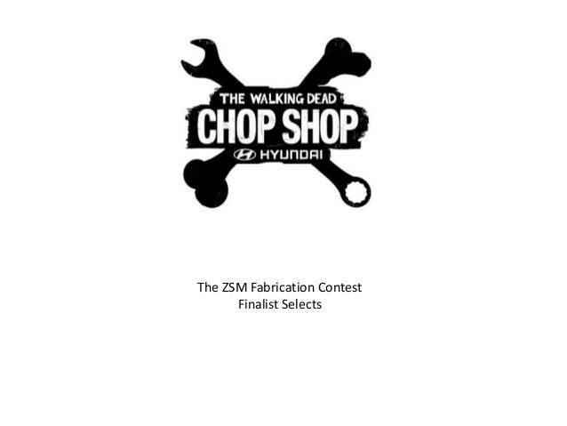 The ZSM Fabrication Contest Finalist Selects