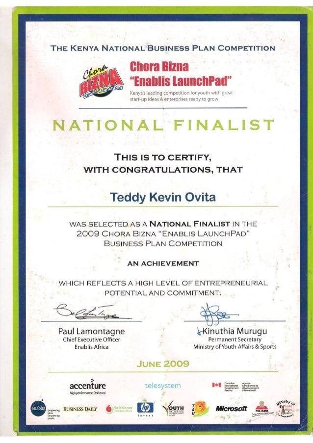 Jitihada - Kenya's National Business Plan Competition - Career Opportunities
