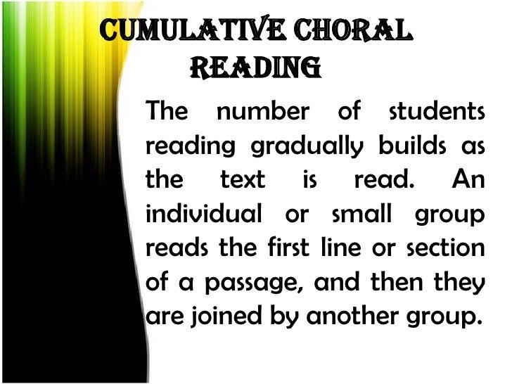 Choral Speaking