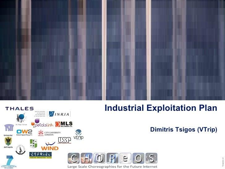 Dimitris Tsigos (VTrip) Industrial Exploitation Plan