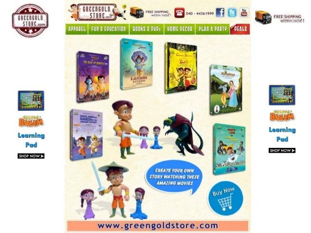 chhota bheem movies collection toys