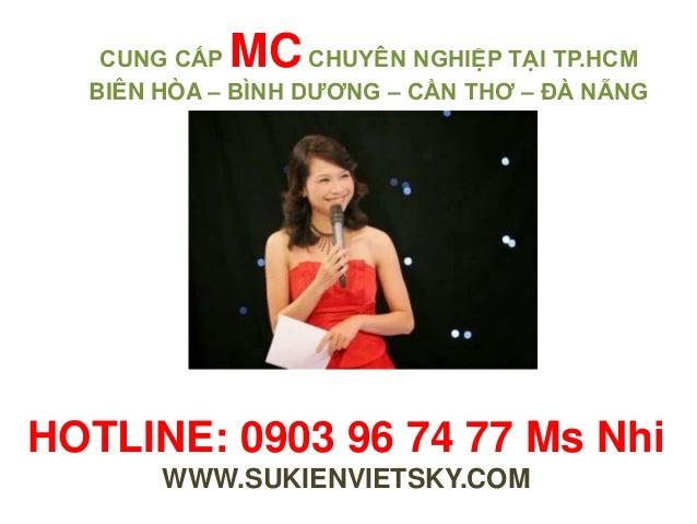 Cho thuê mc, cung cap mc chuyen nghiep tai hcm Slide 2