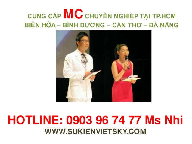 Cho thuê mc, cung cap mc chuyen nghiep tai hcm Slide 3