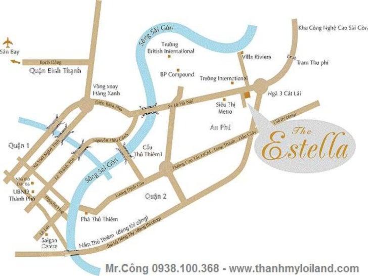 Cho thuê căn hộ the estella quận 2 cực đẹp Slide 2