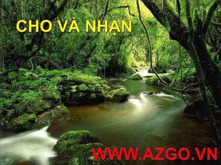 CHO VÀ NHẬN<br />www.azgo.vn<br />