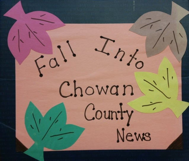 YouthVoice 2015 report: Tour of Chowan County Administrative Building and newspaper clippings