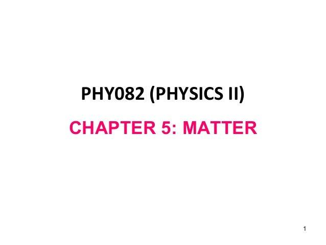 Chp 5 Elasticity Fluid