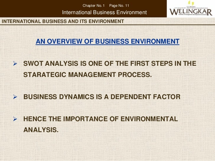 why study international business management