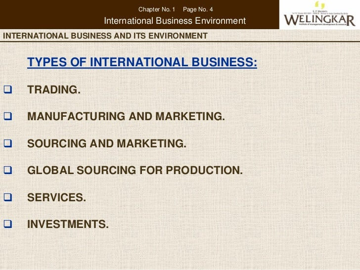 international business environment 2 essay International business summary they must adapt to the new world economy and environment management, international business, management essays.