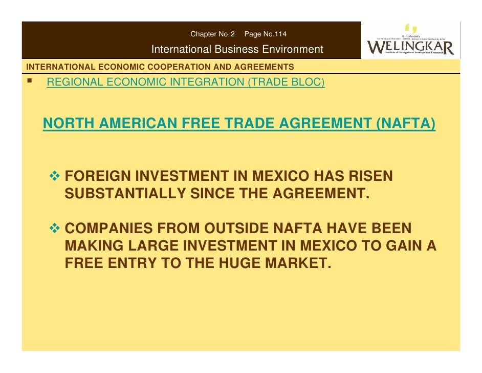 """north american free trade agreement economics essay The north american free trade agreement: after eight years, and the neoliberal   whereas the regional integration deals with economic interdependence,  5  james, rosenau, """"the study of global interdependence"""", essays on the."""
