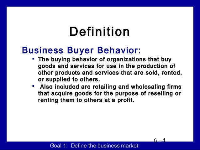 analysis on business buying behavior of Motivation of online buyer behavior maslow's theory of motivation where it is possible to find the basis for a buyer behavior analysis e-business, e.