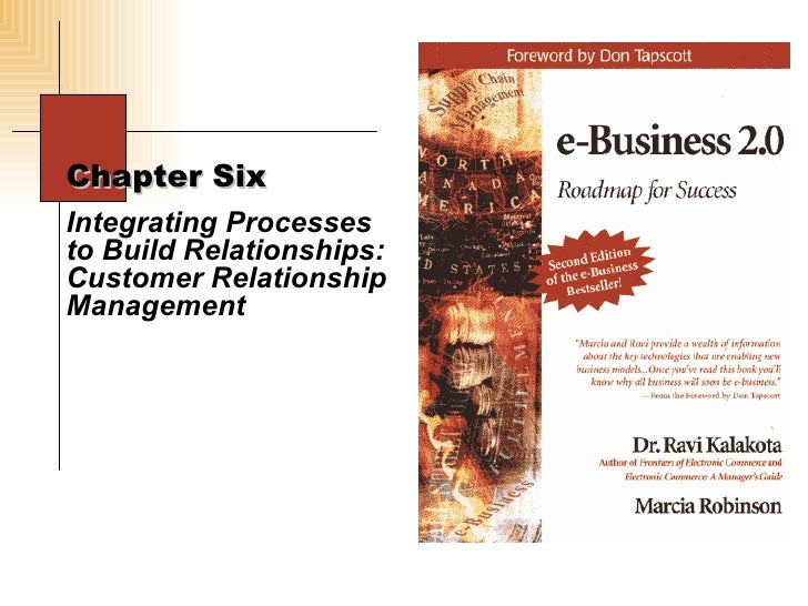 Chapter Six  Integrating Processes to Build Relationships: Customer Relationship Management