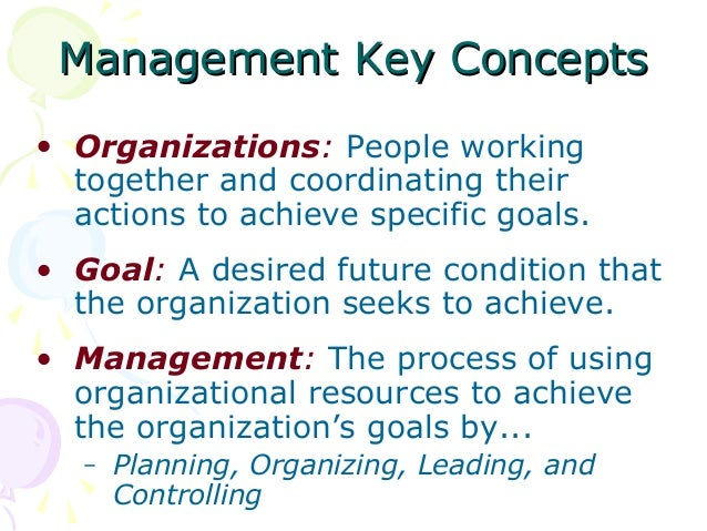 MANAGEMENT AND MANAGERIAL FUNCTIONS Slide 2