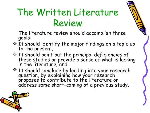 literature review ppt uma sekaran
