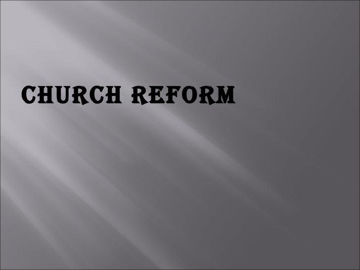 Church Reform