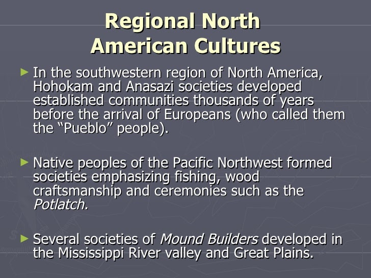 Native American Society on the Eve of British Colonization