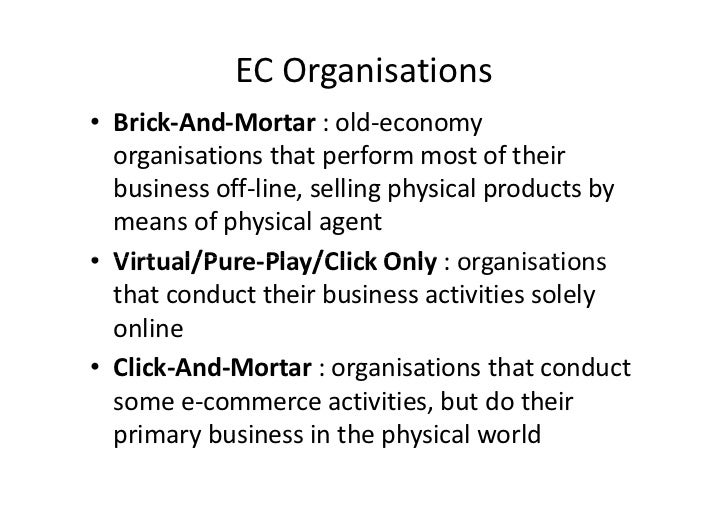 compare brick and mortar and click and mortar organizations Click the follow button on any author page to keep up with the while many people believe brick-and-mortar shops are doomed in today's compare prices, find.